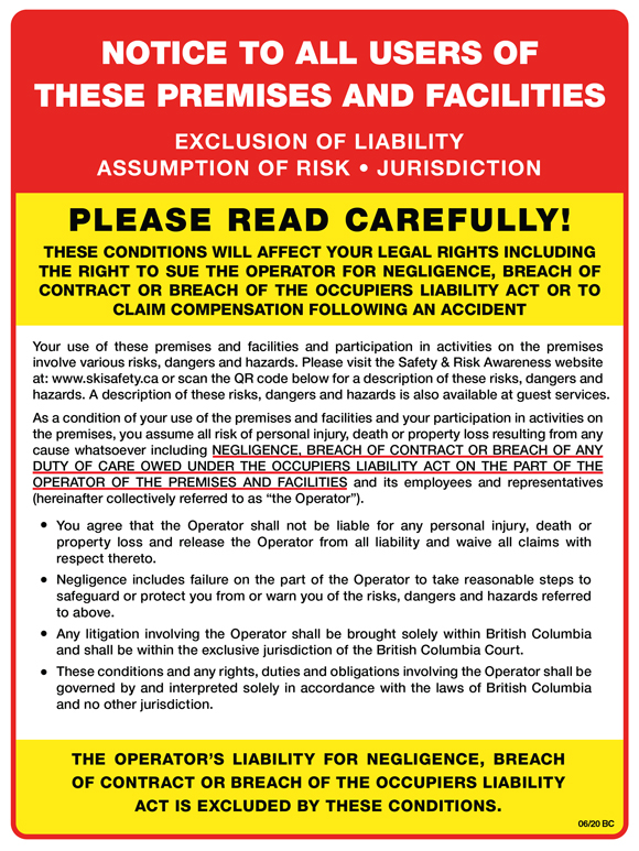2020 21 Exclusion of Liability