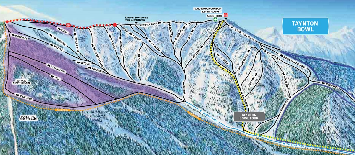 New terrain opening this season