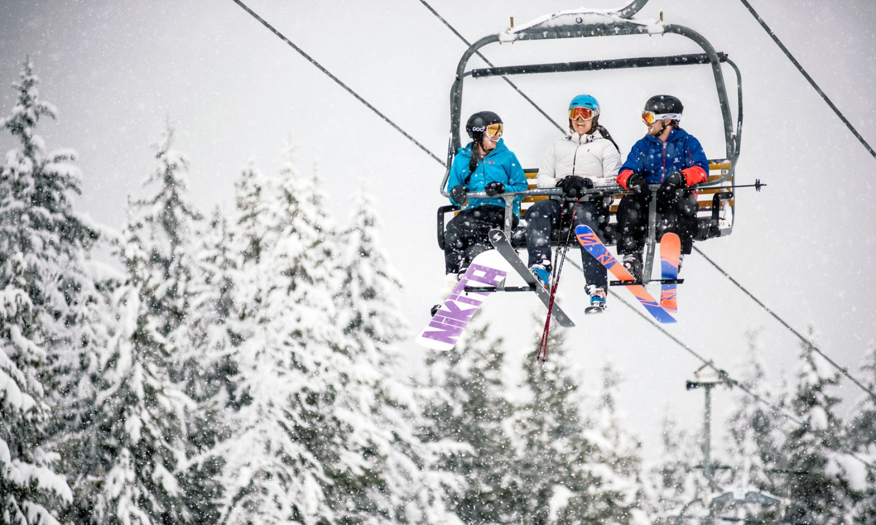 Christmas Village Ski Lift For Sale.Skiing Snowboarding Panorama Mountain Resort