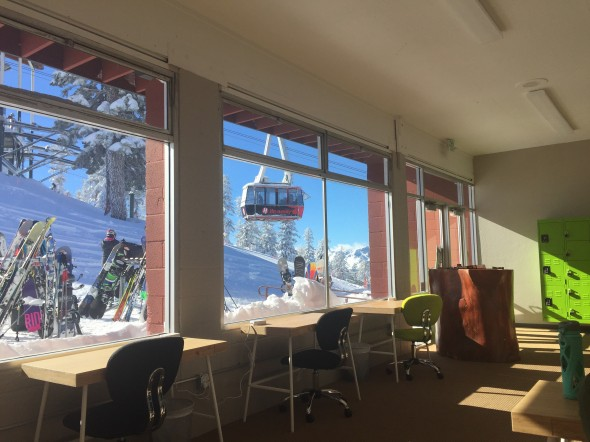 Heavenlys Tahoe Mountain Lab co working space
