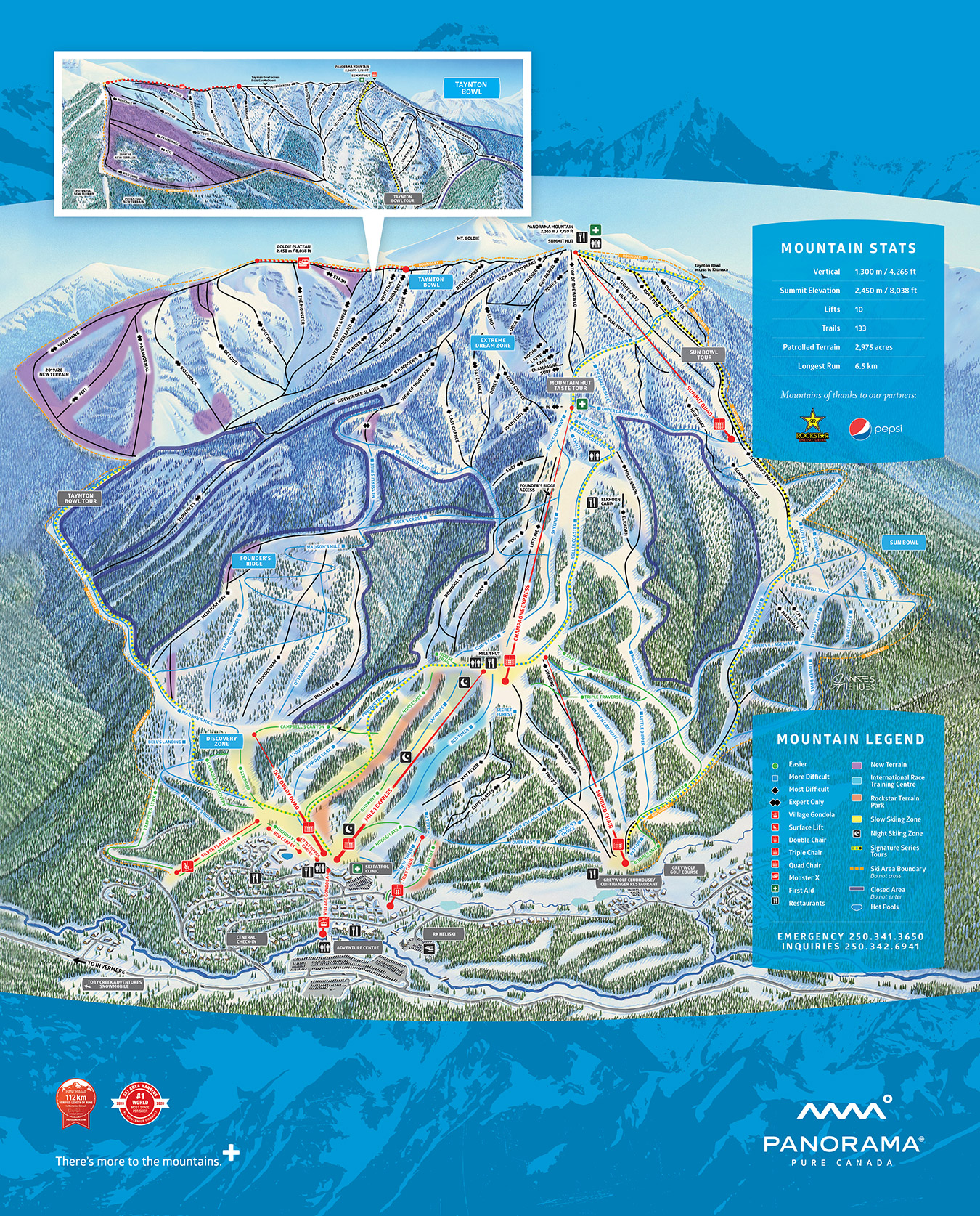 Winter 2019 20 Trail Map website